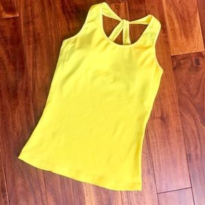 Alo Yoga Tank With Built in Bra/ Bright!Size S